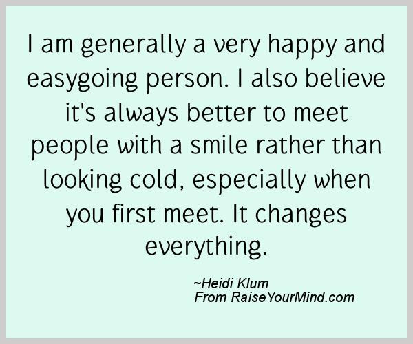 Happiness Quotes I Am Generally A Very Happy And Easygoing Person