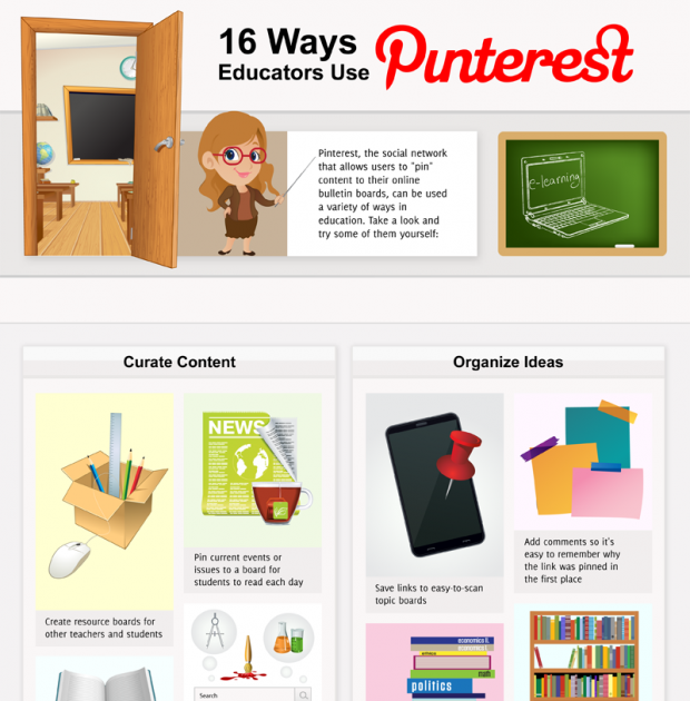 16 Ways Teachers Use Pinterest