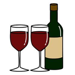 ワイン イラスト フリー