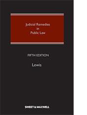 Judicial Remedies in Public Law