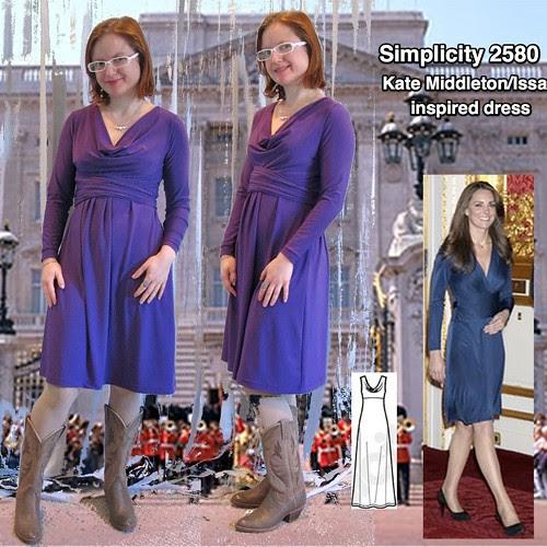 S2580 Kate Middleton Dress Thumbnail