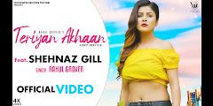 Teriyan Akhan Lyrics - Rahul Grover, Shehnaz Gill