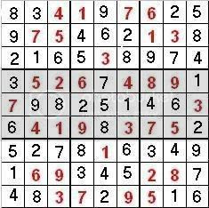 sudoku 1 Pictures, Images and Photos