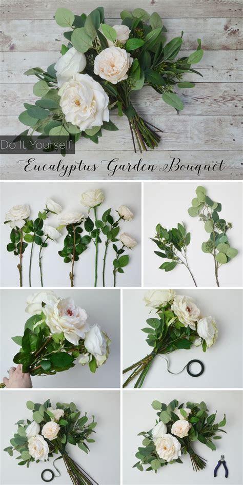 DIY Eucalyptus Bouquet in 2019   Creative Wedding