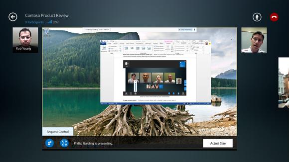 Microsoft Lync para Windows 8.1