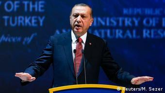 Türkei Weltenergiekongress 2016 in Istanbul - Erdogan (Reuters/M. Sezer)