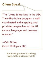 Preparing Trainers & Expats for the U.S. Culture