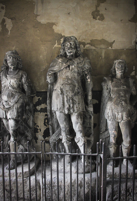 King Lud and his two sons -St. Dunstan-in-the-West