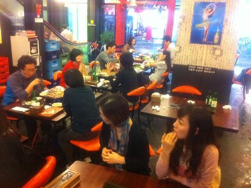 Korean BBQ restaurant in Jeonju
