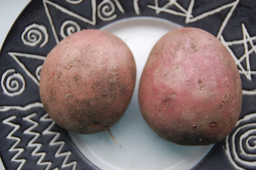 Foula Red potato