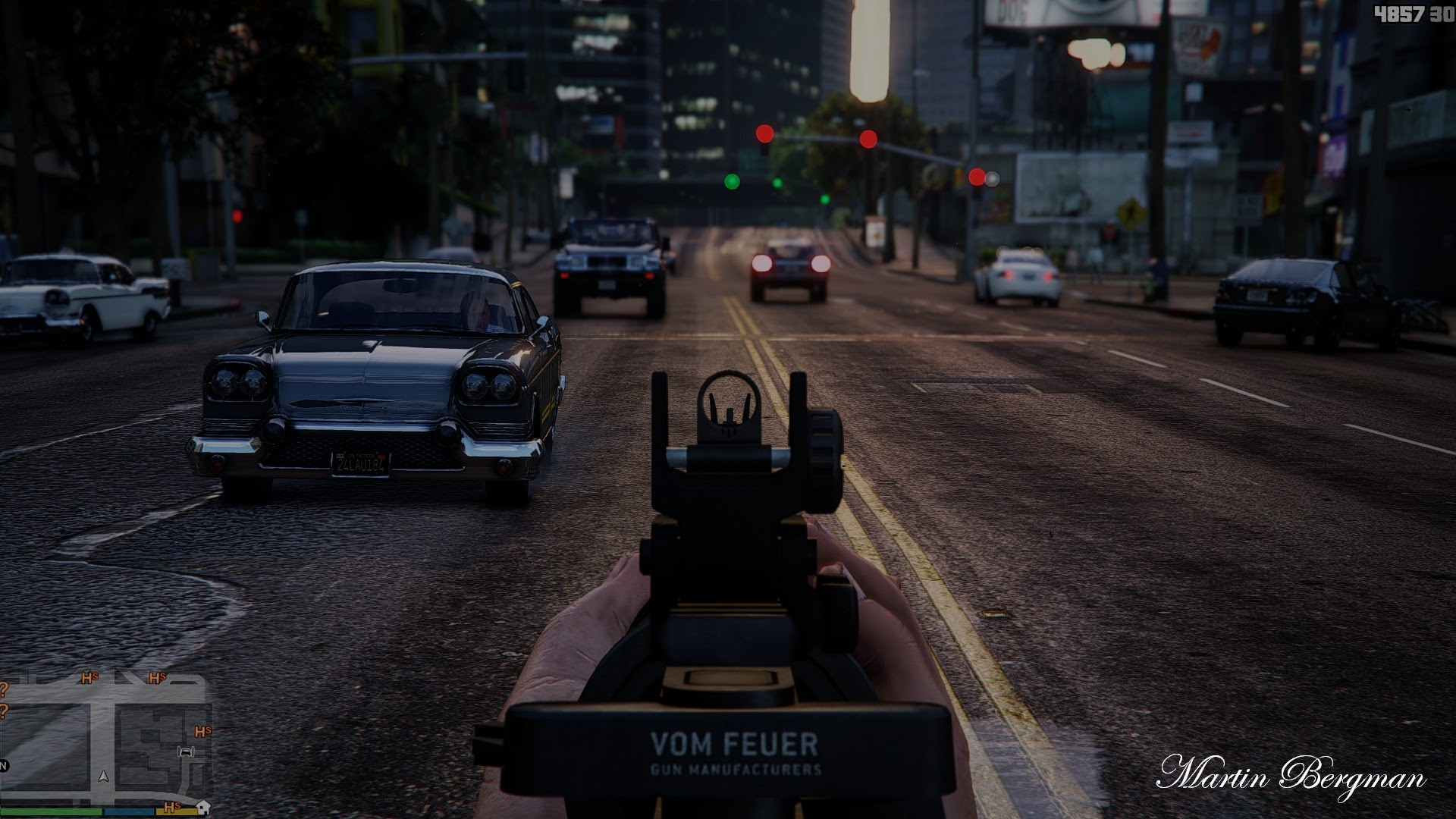 Grand Theft Auto 5 ★ Photo Realistic Graphics