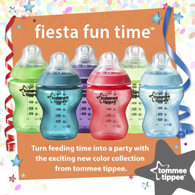 New Fiesta Tommee Tippee Bottles @TommeeTippee_NA #TommeeMommee