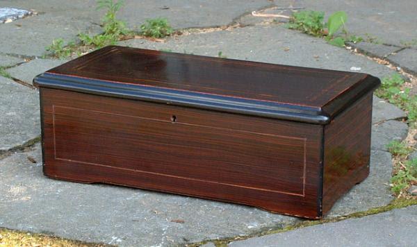 Price My Item: Value of Antique Swiss Cylinder Music Box ...