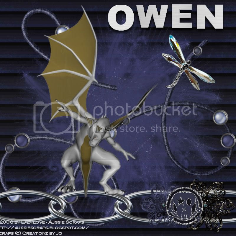Dragon tag for owen