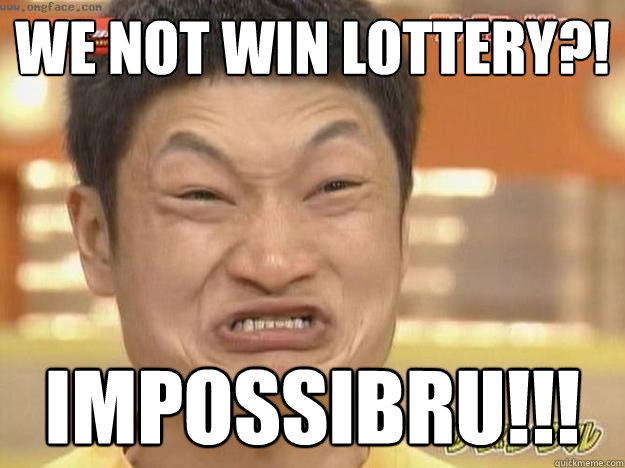 Image result for lottery meme