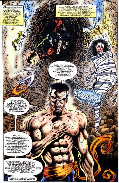 Dr. Strange Sorcerer Supreme Annual #4