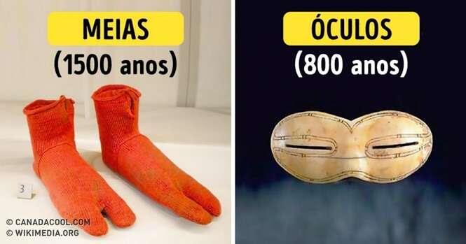 Assim eram alguns objetos de hoje na antiguidade