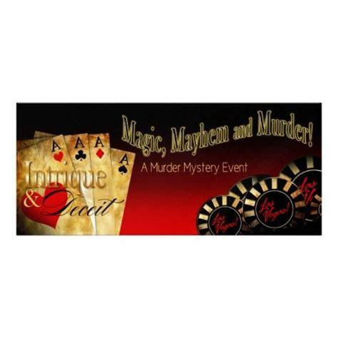 Mystery METALLIC ICE Las Vegas Deluxe FZ Invitation