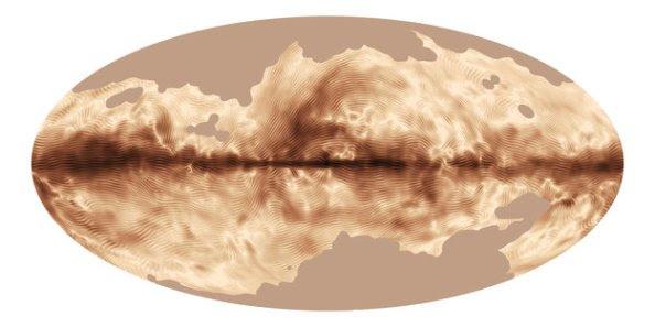 Το μαγνητικό αποτύπωμα του Γαλαξία μας