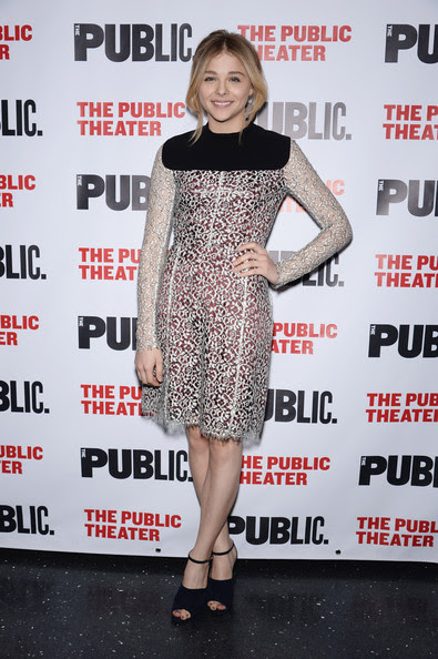 Chloe Grace Moretz - 'The Library' Opening Night Celebration