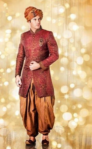 Groom Sherwani Collection By Indian Designer 2014   Groom
