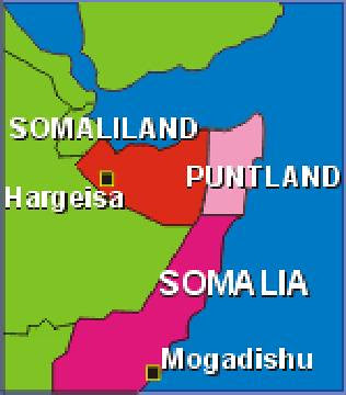 The autonomous region of Puntland in northeastern Somalia had been bombed by US warships. Kenyan air forces struck the breakaway region on January 20, 2007. by Pan-African News Wire File Photos