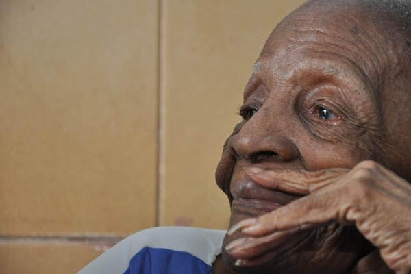 Eudócia Ferreira dos Santos, 104 anos