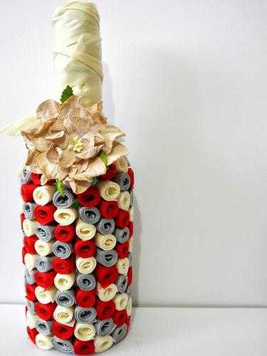 Altered Bottle Vase