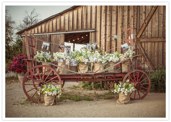 outdoor flower cart
