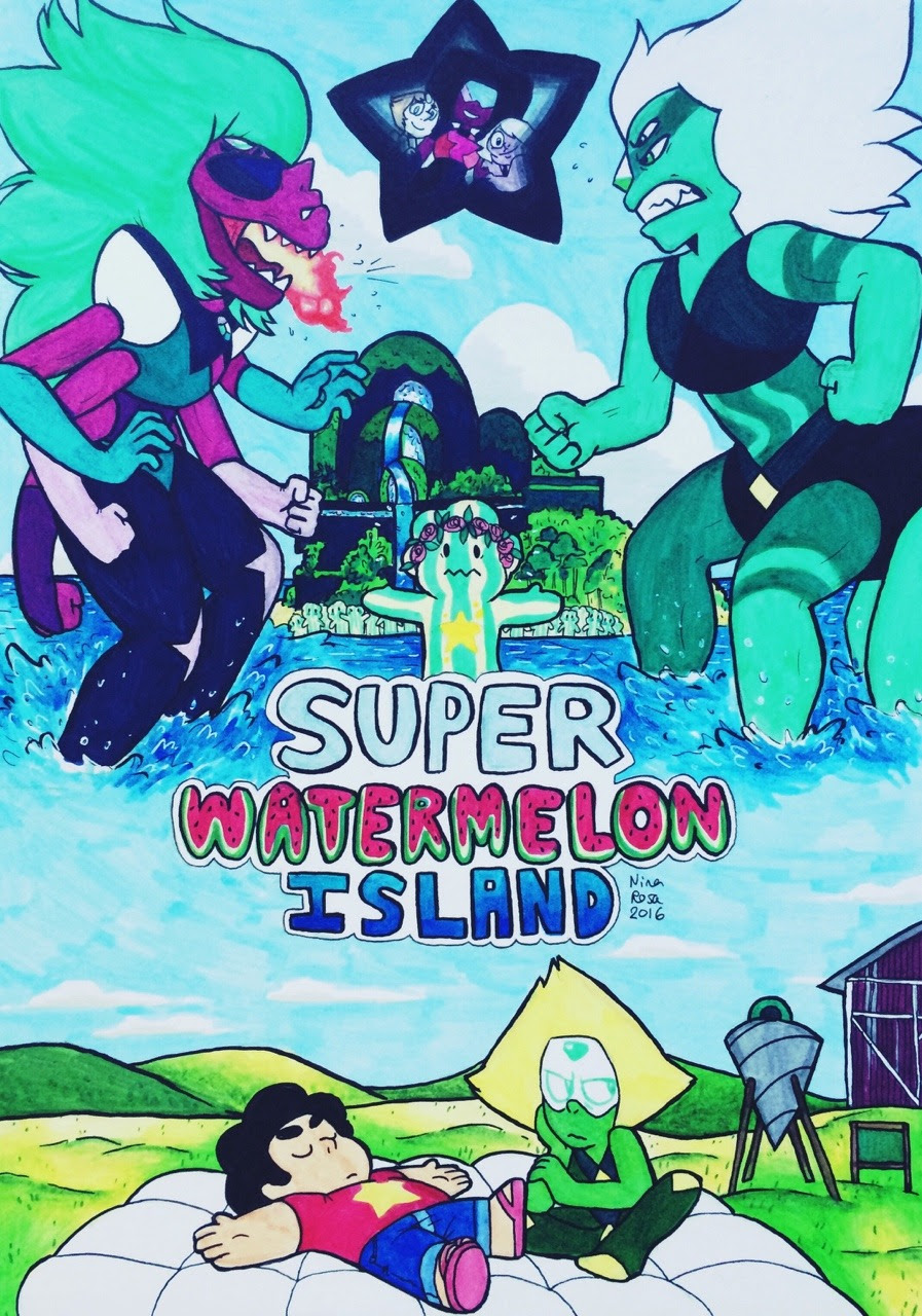 SUPER WATERMELON ISLAND This episode was really great!!! The Malachite and Alexandrite battle was so cool and really good!! Even if we almost saw half of the episode with the leaks, it was still...