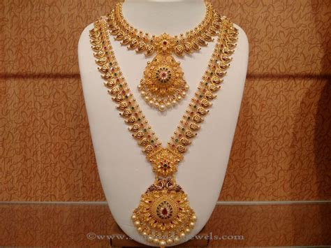 Latest Indian Bridal Necklace set from NAJ ~ South India