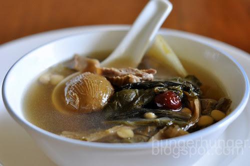 bak choy soup