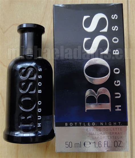 hugo boss bottled night ml   michael