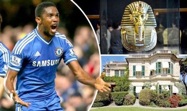 Former Chelsea & Everton striker Samuel Eto'o buys an Italian villa that's 'cursed by Tutankhamun' [Pictures]