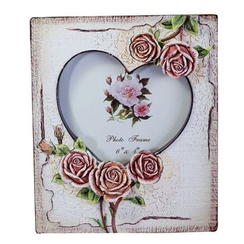 Amazon.com   Gift Garden Picture Frame   Two Heart Shaped