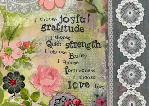 I Choose Joyful Gratitude - Print