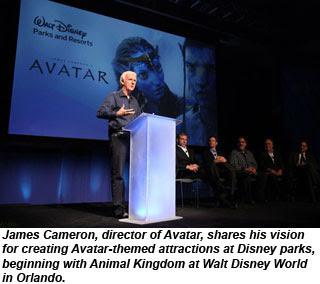 James Cameron talks about Avatar