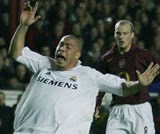 Ronaldo: Throwing his weight about
