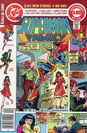 Superman Family #210