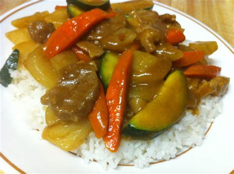 japanese curry pork  vegetables  mamas recipes