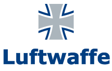File:Bundeswehr Logo Luftwaffe with lettering.svg