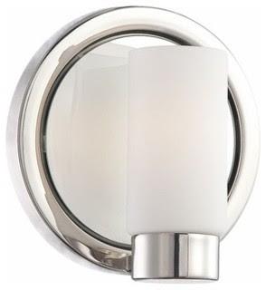 George Kovacs Next Port 1 Light Bath Sconce - modern - wall ...