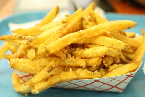 Truffle Fries at Edzo's