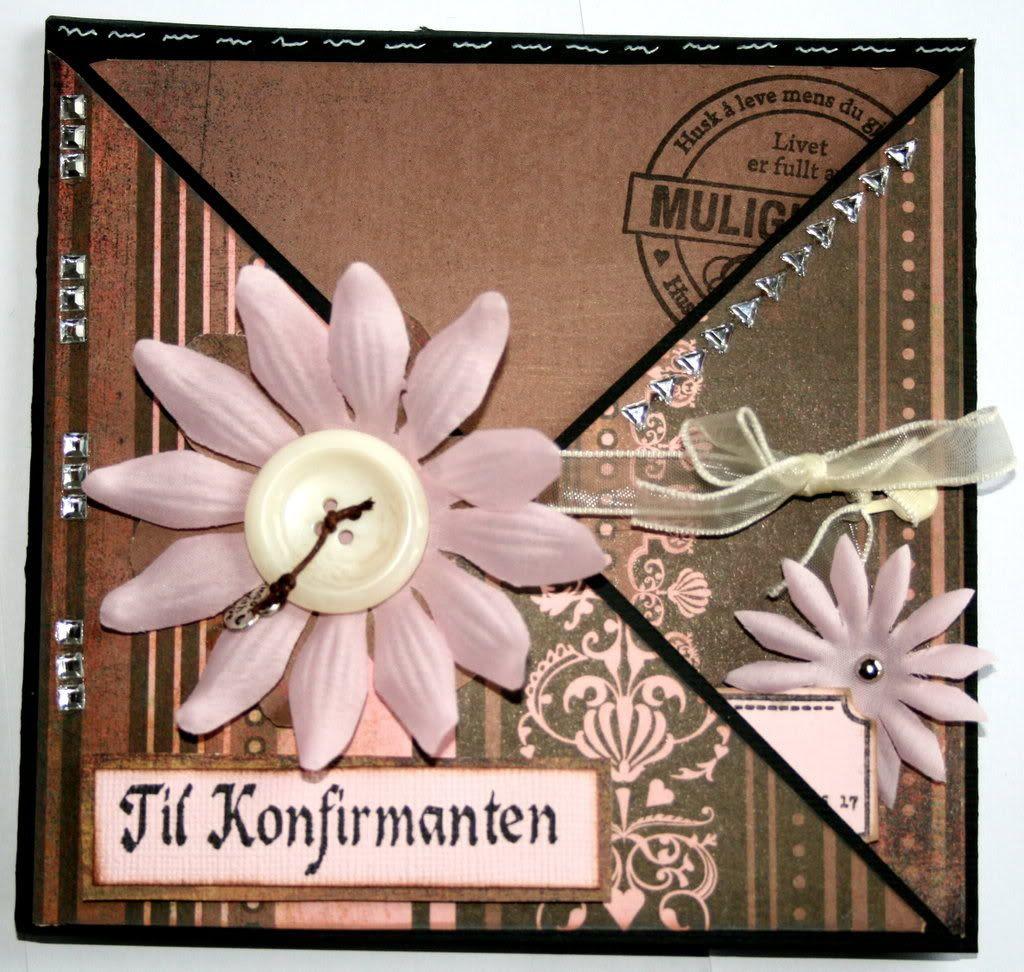 Forsiden av criss cross-kortet