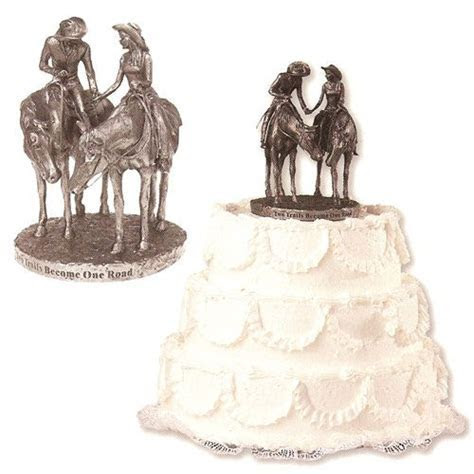 56 best images about Western wedding cakes on Pinterest
