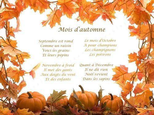 Jesień - wiersz 1 - Francuski przy kawie