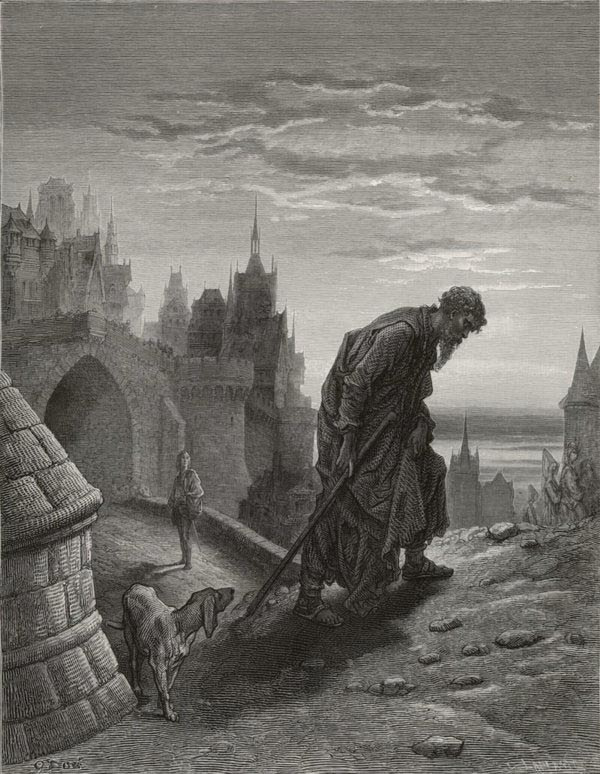 The mariner is gone - from The Rime of the Ancient Mariner - by Gustave Dore (C. LaPlante, engraver)