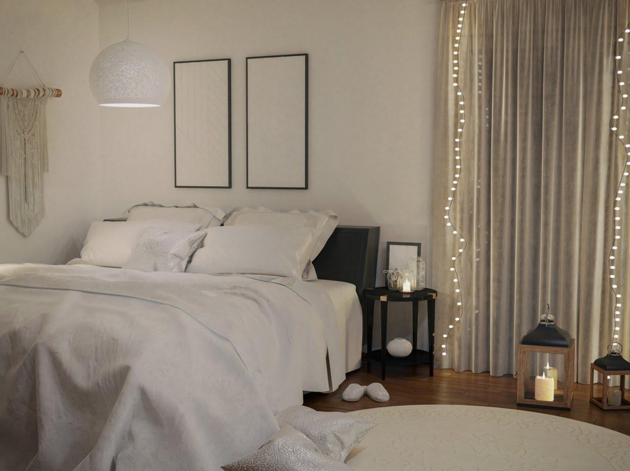 schlafzimmer wanddeko ideen wanddekoration ikea holz