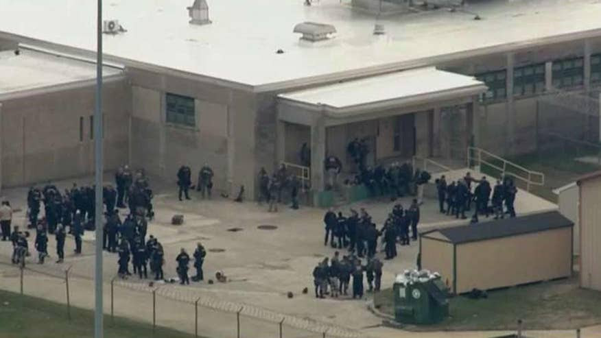 Image result for GUARDS HELD HOSTAGE BY INMATES AT DELAWARE PRISON