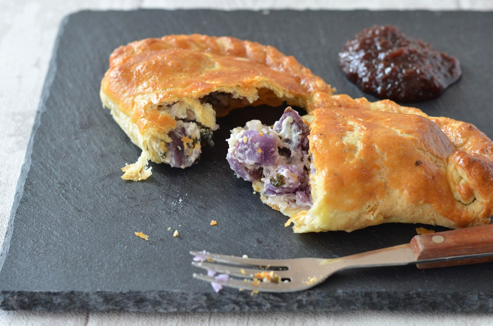 Minted Potato Pasties